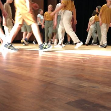 """""""Momo Tanzprojekt"""" – filming with Year 5"""